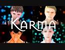 【進撃のMMD】Karma【山奥親友】