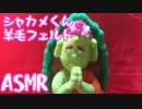 【ASMR】羊毛フェルトで亀戸花まつりのゆるキャラ、シャカメくんを作る【睡眠・作業用BGM】short version