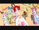 【MMD】ラッキー☆オーブ lucky☆orb【重音テト 小春音アミ TAKASHI】
