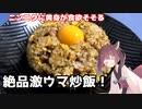 【料理】【炒飯】ニンニクに黄身が食欲そそる!絶品激ウマ炒飯!【東北きりたん】