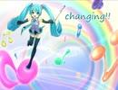 【初音ミクV3】changing!!【オリジナル曲】