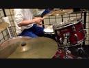 【ワルキューレ】 『涙目爆発音』 ドラム叩いてみた