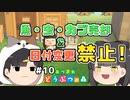 魚・虫・カブ売却&日付変更禁止の森 #10 【あつまれ どうぶつの森】