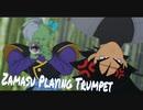 MMD - Zamasu Playing Trumpet □