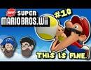 [HOBO BROS]NewスーパーマリオブラザーズWiiを実況プレイ PART 10