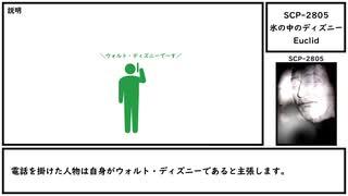 【ゆっくり紹介】SCP-2805【氷の中のディズニー】