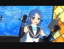 【MMDモデル更新】 SSR式五月雨改ver1.60で「ダダダダ天使」
