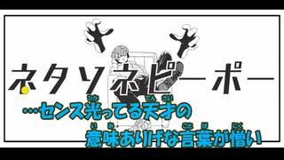 【ニコカラ】ネタソネピーポー《あめのむらくもP》(On Vocal)