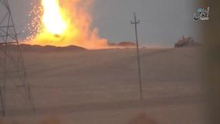 エイブラムス戦車はイスラム国によって破壊されます