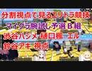 【マイクラ腕試し】予選B組エリトラ競技(渋谷ハジメ、樋口楓、エル、鈴谷アキ視点)