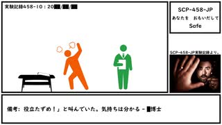 【ゆっくり紹介】SCP-458-JP【あなたを おもいだして】