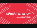 Won't Give Up / 初音ミク