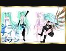 【MMD杯ZERO3参加動画】自作ミクさんでシニカルナイトプラン【モデル・ステージ配布】