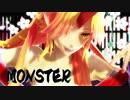 【東方MMD】勇儀姐さんでMONSTER