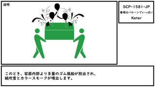 【ゆっくり紹介】SCP-1581-JP【墓場はバルーンでいっぱい】