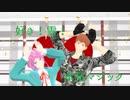 【ヒプマイMMD】好き!雪!本気マジック【乱数と理鶯】