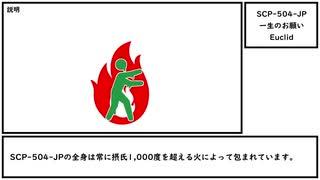 【ゆっくり紹介】SCP-504-JP【一生のお願い】