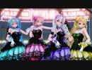 【MMD杯ZERO3参加動画】【MMD-PVF7】BLACKPINK - Lovesick Girls【計26モデル 12シーン】