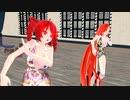 【MMD】WAA!!!!【重音テト 波音リツ】