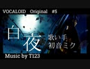 【白夜】T123 feat.初音ミク Original VOCALOID MV