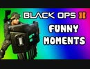 Black Ops 2 Funny Moments - Assault Shield Glitch, Adult Cod TV, Nogla High, Bad Emblem (Funtage)