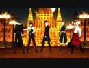 【MMDあんスタ】Black Out 【朔間兄弟・巴日和・斎宮宗・神崎颯馬】