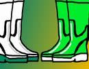 カオウガール烈伝 「KR-20&小田切双葉(KR-21)」長靴変身シーン