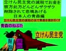 立憲民主党の減税で彼方此方どんどんザクザクお金を削除されて悲鳴をあげる日本人の青森編