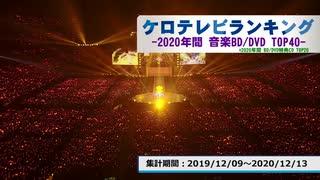年間アニソンランキング 2020年BD・DVD TOP40【ケロテレビランキング】