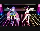 【MMD】ウナきりでハッピーシンセサイザ -Re:make Ver.-【NEUTRINO&VOCALOID】