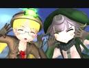 【MMD】【MMD杯ZERO3参加動画】リコ・プルたちによる ポジティブ☆ダンスタイム