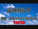 山神カルタ脊髄・迷言グランプリ2020 TOP30