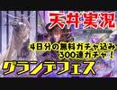 【グラブル実況】サンダルアナザー狙い!グランデフェス天井300連ガチャ(2020年末)
