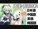 【原神】【藤田茜】声優・言語比較 その15 スクロースとパイモン