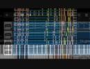 Flat Scoreにインポートした真っ黒ナイト・オブ・ナイツとLBSFSの弾幕を混ぜてみた