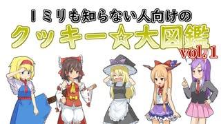 1ミリも知らない人向けのクッキー☆大図鑑vol.1