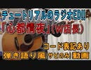 【コード有】W店長「心都情夜」サビだけ弾き語り風 covered by hiro'【演奏動画】