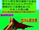 立憲民主党の減税で彼方此方どんどんザクザクお金を削除されて悲鳴をあげる日本人の富山編