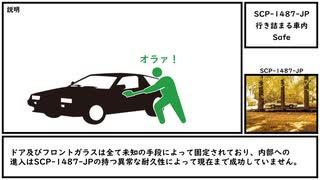 【ゆっくり紹介】SCP-1487-JP【行き詰まる車内】