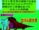 立憲民主党の減税で彼方此方どんどんザクザクお金を削除されて悲鳴をあげる日本人の長野編