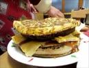 のまさんち「【マクドナルド自作系】アイダホバーガー!本当のビッグアメリカw.wmv」
