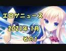 新作エロゲニュース【2021年1月 その1】