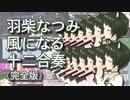 【あにまーれ】羽柴なつみ 風になる 十二合奏【リコーダー】