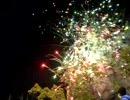 スカイマークの花火