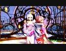 MMD【乱躁滅裂ガール】Tda式 弱音ハク 重音テト kimono style
