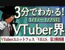 【1/17~1/23】3分でわかる!今週のVTuber界【佐藤ホームズの調査レポート】