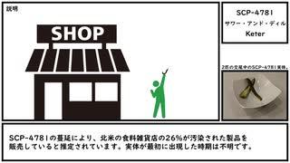 【ゆっくり紹介】SCP-4781【サワー・アンド・ディル】