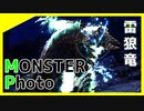MONSTER Photo ジンオウガを撮影したらオカマっぽくなった  MHWIB