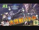 【MHWI】 大怪獣バトル勃発!? 裸、無被弾、0針縛り(古龍級は除く)#1 [上位編]