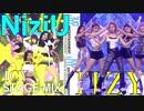 """ITZY & NiziU """"ICY"""" stage mix"""